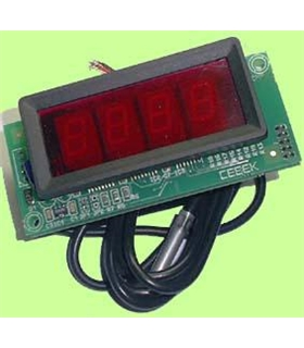 "I-86.4 - Termostato com Display 4"" 12Vdc - I-86.4"