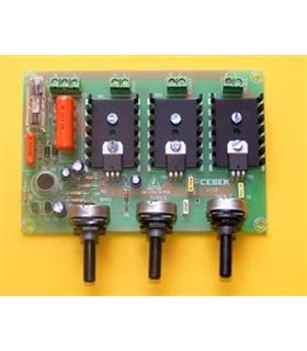 L-12 - Psicadelico 3 Saidas com Microfone 12Vdc - L-12