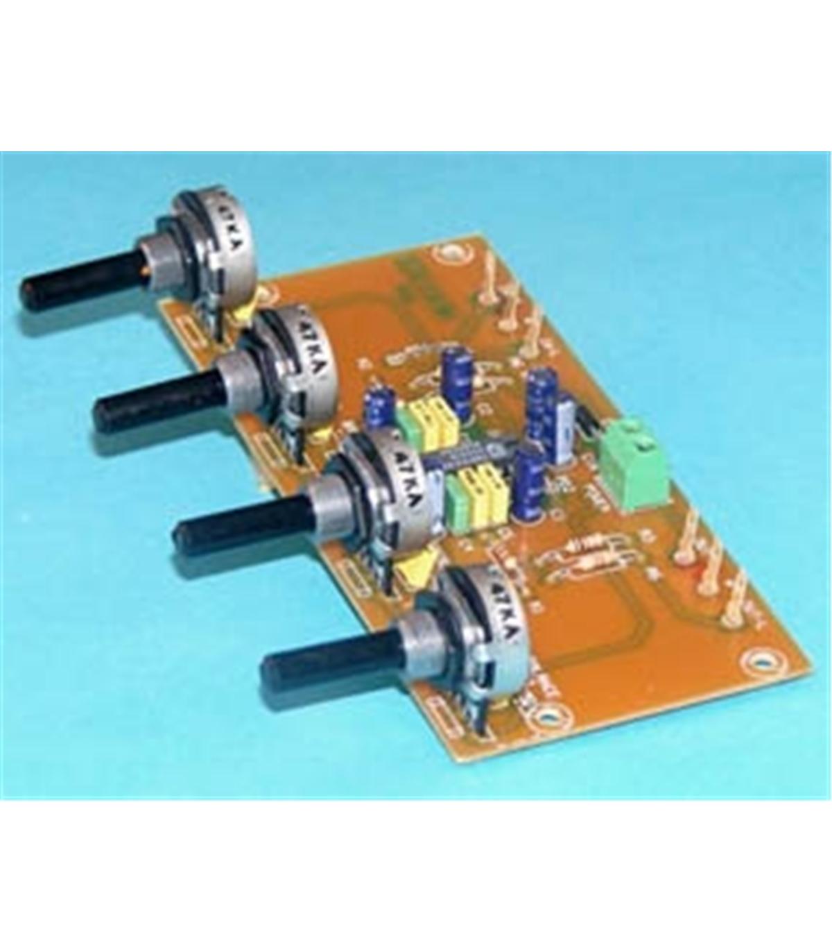 Transformar amp. csr sufio em amp Hi-Fi P-1-controlador-de-tons-stereo-2-canais-12vdc-p-1