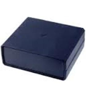 Caixa plástica 160x140x60mm preta - MX096-0740