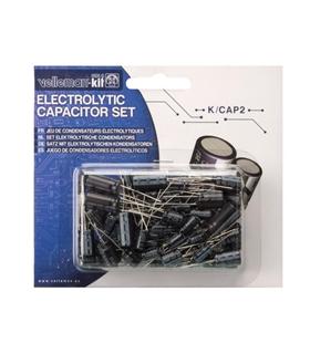 KCAP2 - Conjunto de 120 Condensadores Electroliticos - KCAP2
