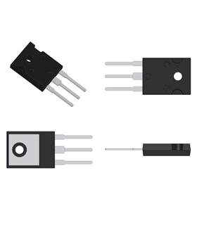 2SD1878 - Transistor N, 1500/800V, 5A, 60W, TO247F - 2SD1878