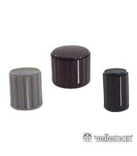 KN206GS - Botao Cinza Com Linha Branca 20x16mm - KN206GS