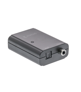 KNACO2501 - Conversor Audio Toslink-RCA - KNACO2501