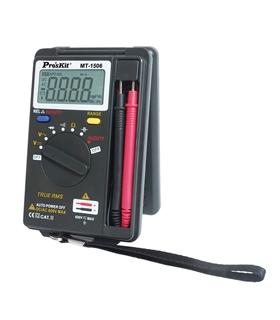 MT-1506 - Multimetro Digital 3 3/4 Digitos True Rms - MT-1506