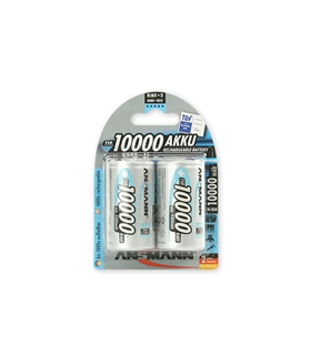 5030642 - Pack 2 Pilhas Recarregaveis Lr20 10000Mah - 5030642