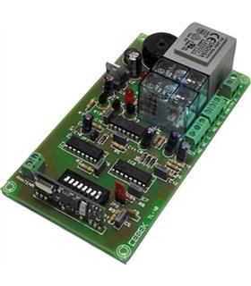TL-1 - Receptor RF 1 Canal Monoestavel 12Vdc - TL-1