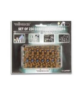 KCAP1 - Conjunto de 224 Condensadores Cerâmicos - KCAP1
