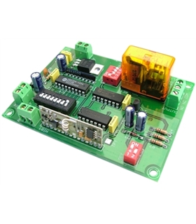 TL-26 - Receptor Rf 1 Canal Mono/Biestavel 12Vdc - TL26