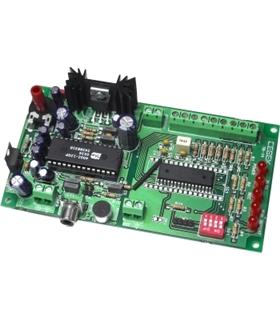 TR-14 - Gravador/Reprodutor 8 Mensagens - TR-14
