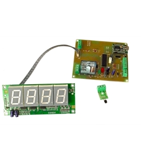 "USB.I-180.2 - Termostato USB 4 Digitos 2.5"" - USB.I-180.2"