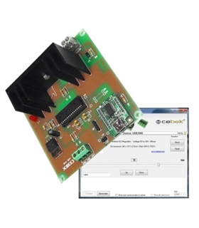 USB.R-40 - Regulador Para Motores DC Por Usb - USB.R-40