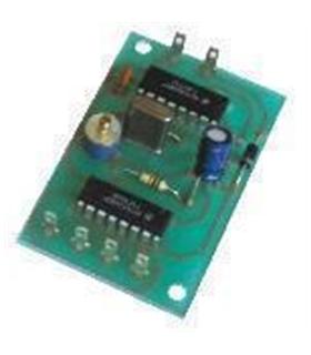 XT-3 - Oscilador Quartzo 1,5,10,100,500 Hz - XT-3