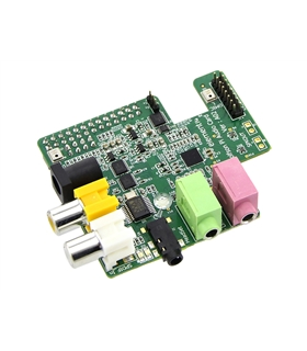 WOLFSON AUDIO CARD - AUDIO CARD, FOR USE WITH RASPBERRY PI - WOLFSONPI