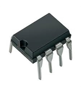 LM741CN - Operational Amplifier, Single,1 MHz, DIP8 - LM741CN