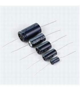 Condensador Electrolitico 100uF 25V Horizontal - 3510025H