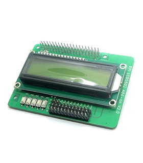 Raspberry Pi Character LCM LCD1602 Add-on Display Module V20 - MX150627007