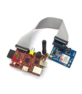RASPBERRY PI SIM900 GSM/GPRS MODULE ADAPTER KIT - MX130609001