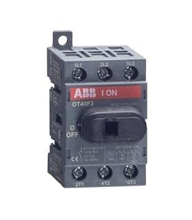 OT40F3 - Disjuntor de Isolamento, 3 polos, DIN - OT40F3