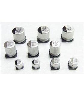 Condensador Electrolitico 10uF 16V SMD - 351016D