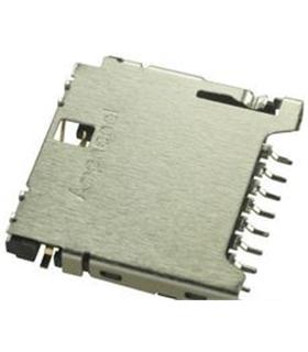 114-00841-68 - Conector Micro SD, 8 Contactos - 114-00841-68