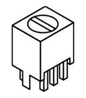 42IF106-RC - Transformador áudio 20K-5K - 42IF106-RC