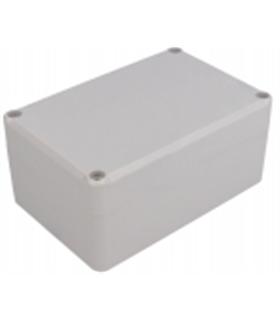 MX3022258 - Caixa Plastica 78.2X118.2X54.8mm IP65 Cinza - MX3022258