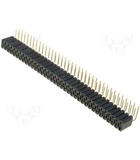 Regua Femea 2x36 Pinos 90º 2.54mm - MXBL472G