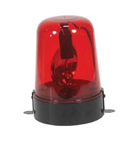 Pirilampo Rotativo Lampada E14 Vermelo 230V 15W - MXJDL009R
