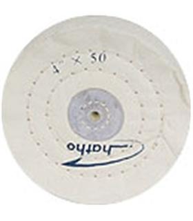 Roda de polimento para PM 100 em Musselina branqueada d.100 - 2228002