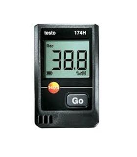 Testo 174H - Mini data logger para temperatura e humidade - TESTO174H