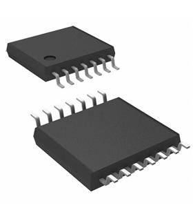 SN74HC04PWR - Inverter, 74HC04, 1 Input, 2 V to 6 V, TSSOP14 - CD74HC04PWR
