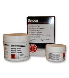 10611 - Adesivo Moldavel Aluminio Pastoso, Devcon, 500g - 10611