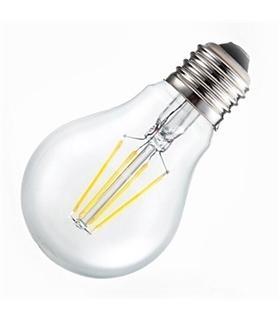 Lampada LED 4W A60 E27 Ambar 2200K - VT1954
