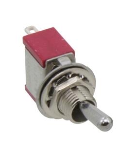 Interruptor Alavanca 3 Posiçoes 1 Circuito Miniatura - 9141C3PM
