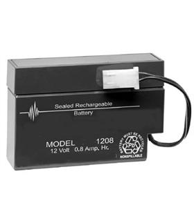 Bateria Gel Chumbo 12V 0.8A [96x25x62mm] - 1208