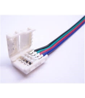 Conector Rapido Para Fita de Led RGB 10mm 4 Fios - LL592