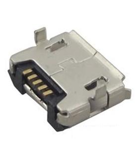 USB3135-30-A - Ficha Micro USb Tipo B 5 Pinos Smd - MUSBCI18