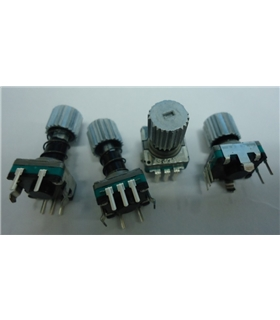 EC11E152U402 - ENCODER, PUSH LOCK, 11MM, 30D, 15PPR - EC11E152U402