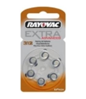 PR41 - Pack de 6 Pilhas Para Aparelho Auditivo 1.45V 180mAh - 169PR41