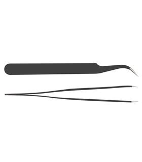 Pinca Anti Estatica 120mm Angular - PINAE01F