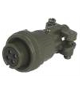 DS3160F14S-6S - Conector Serie DS/MS Femea 6 Pinos Cabo - DS3160F14S6S