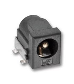 Ficha DC 6.4x2mm Aplicação Smd - DC2SMD