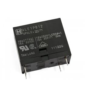 ALE1PB12 - Rele 12Vdc 16Amp SpSt-No - ALE1PB12