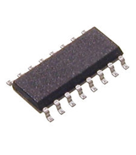 CD74HCT163P - Presettable synchronous 4-bit binary counter; - CD74HCT163P