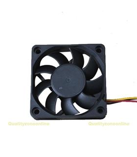 Ventilador 5V 60x60x15mm 1W c/ 3 Fios - V56S