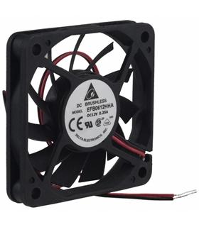 Ventilador Delta 12V 60x60x10mm 2.16W - EFB0612HHA