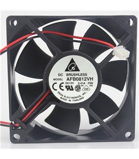 Ventilador Delta 12V 80x80x25mm 3.12W - AFB0812VH