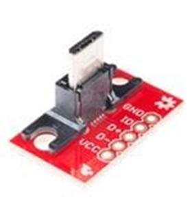 Sparkfun USB MicroB Plug Breakout - BOB10031