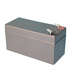 Bateria Gel Chumbo 12V 1.3A - 50x95x43mm - 1213